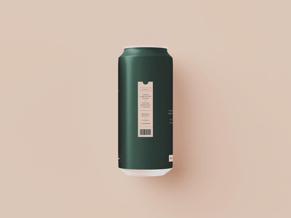 Second Star: Sparkling Cocktail - Beverage Brand - image 3 - student project