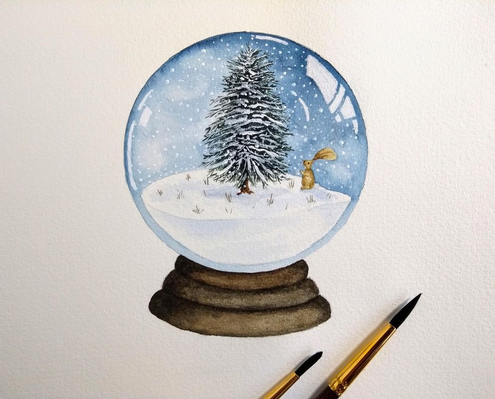 Snow Globes! - image 3 - student project