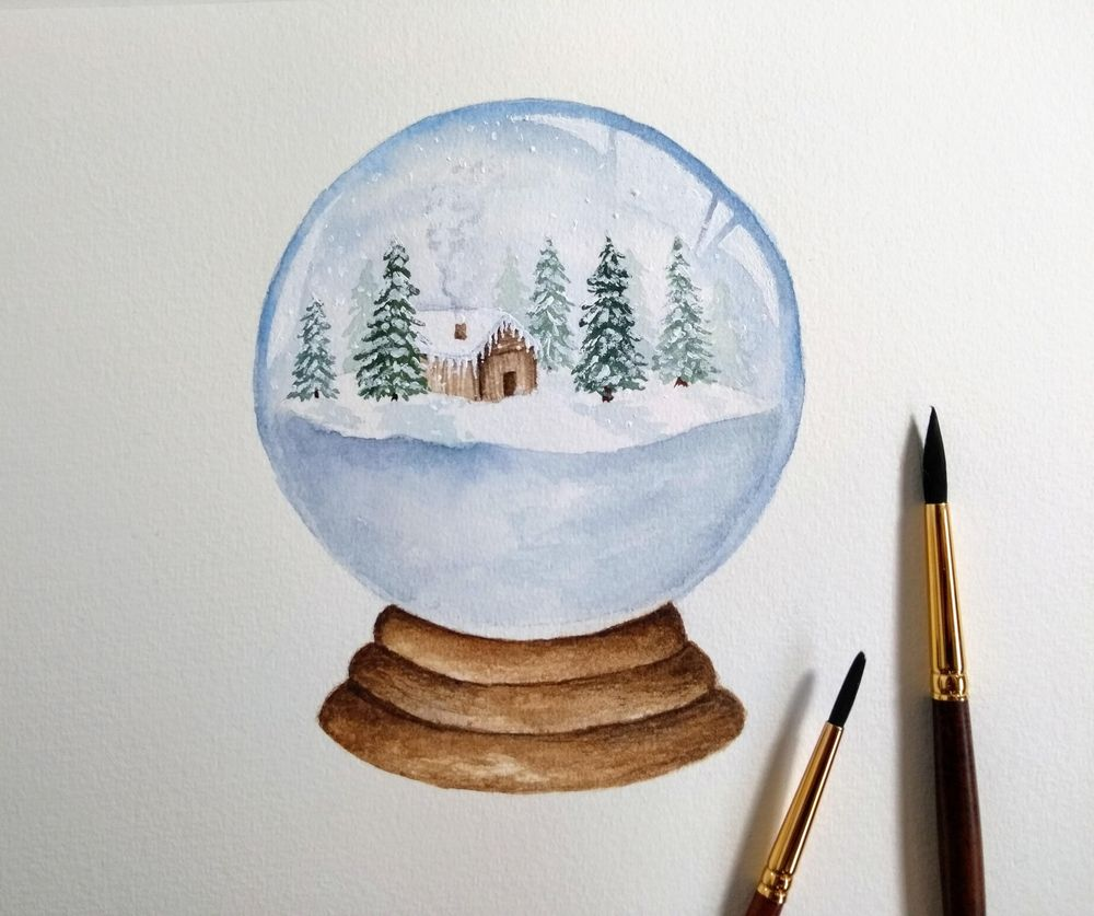 Snow Globes! - image 1 - student project