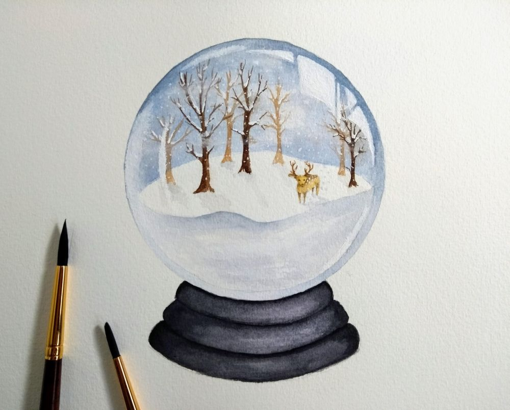 Snow Globes! - image 2 - student project