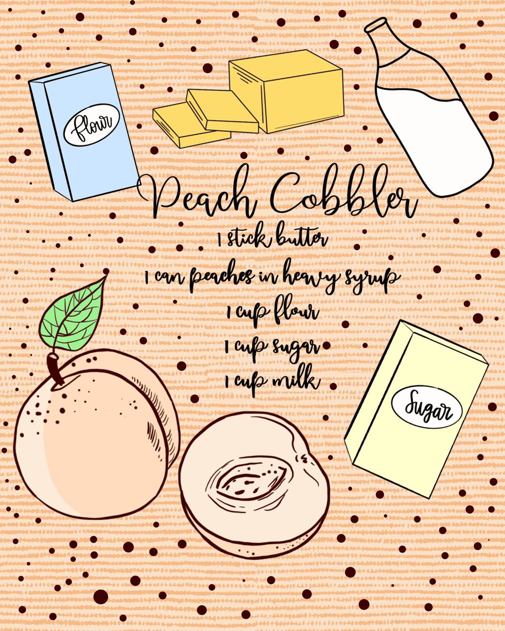Peach Cobbler - image 1 - student project