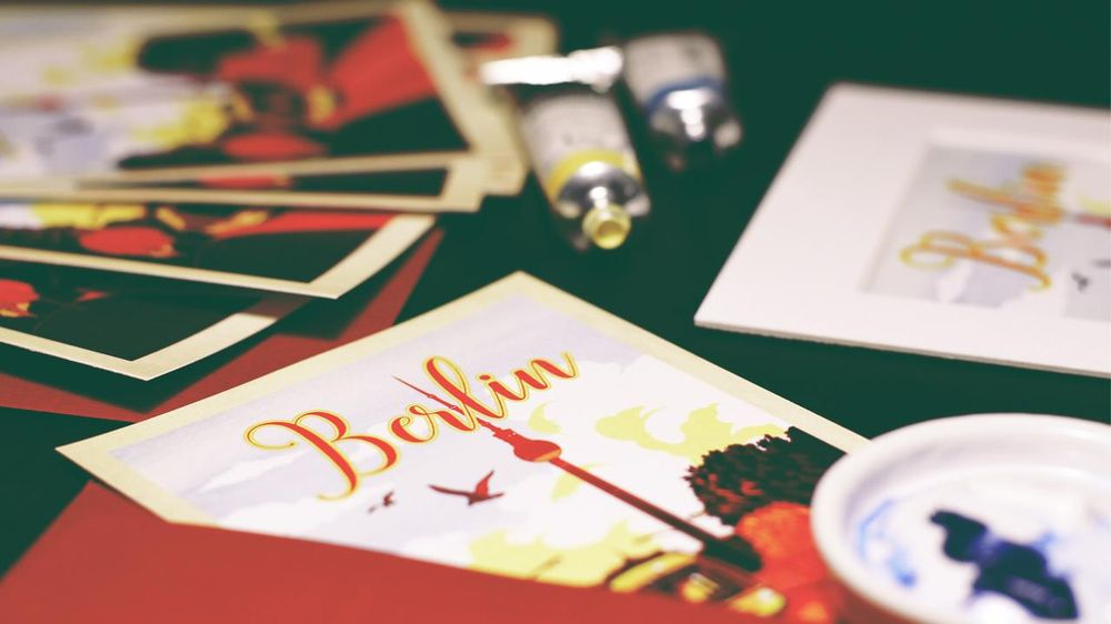 Berlin Postcard - image 1 - student project