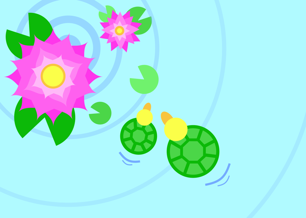Peacock & Turtleduck - image 2 - student project