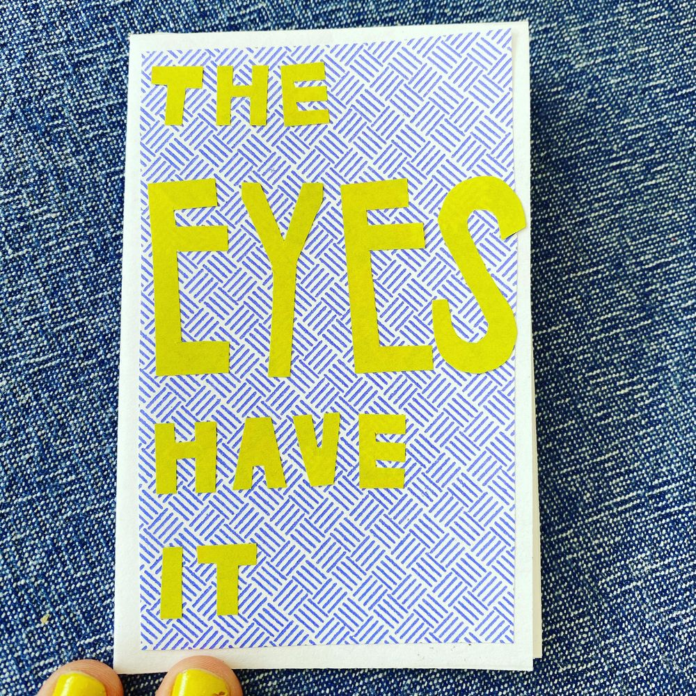 The Eyes Have It - image 1 - student project