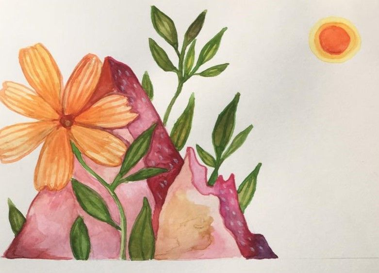Ana's  Watercolour intro Project - image 1 - student project