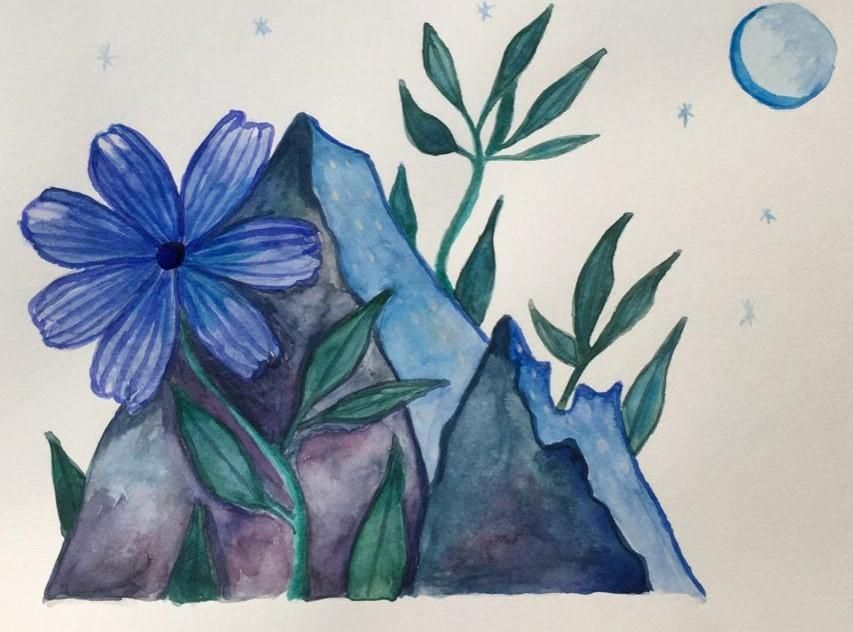 Ana's  Watercolour intro Project - image 2 - student project
