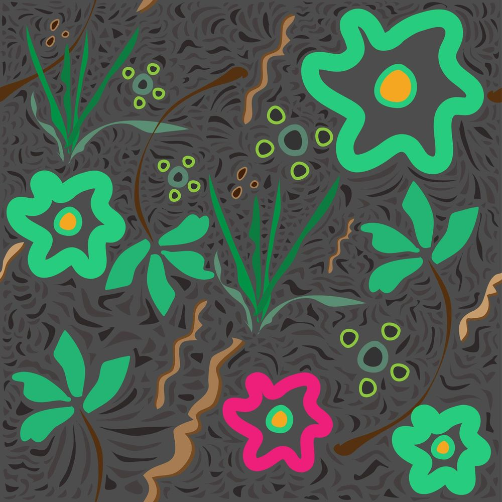 My first Green texures - image 1 - student project