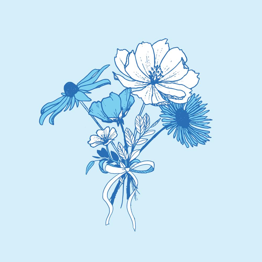 Blue Bouquet - image 4 - student project