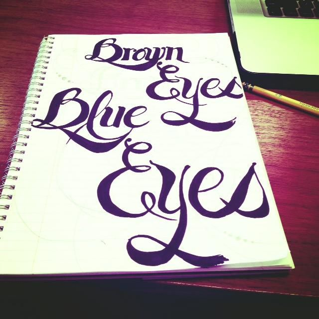 Brown Eyes Blue Eyes - image 1 - student project