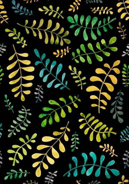 Blobby leaves - image 1 - student project