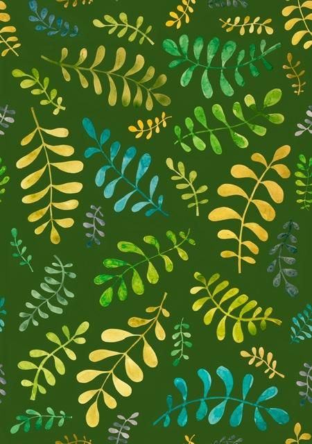 Blobby leaves - image 2 - student project