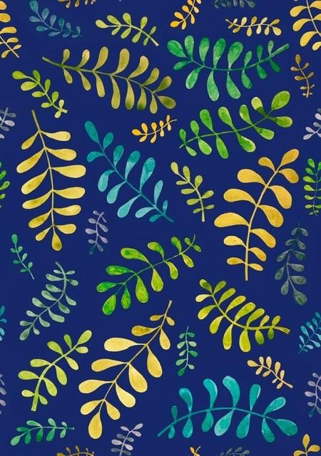 Blobby leaves - image 3 - student project