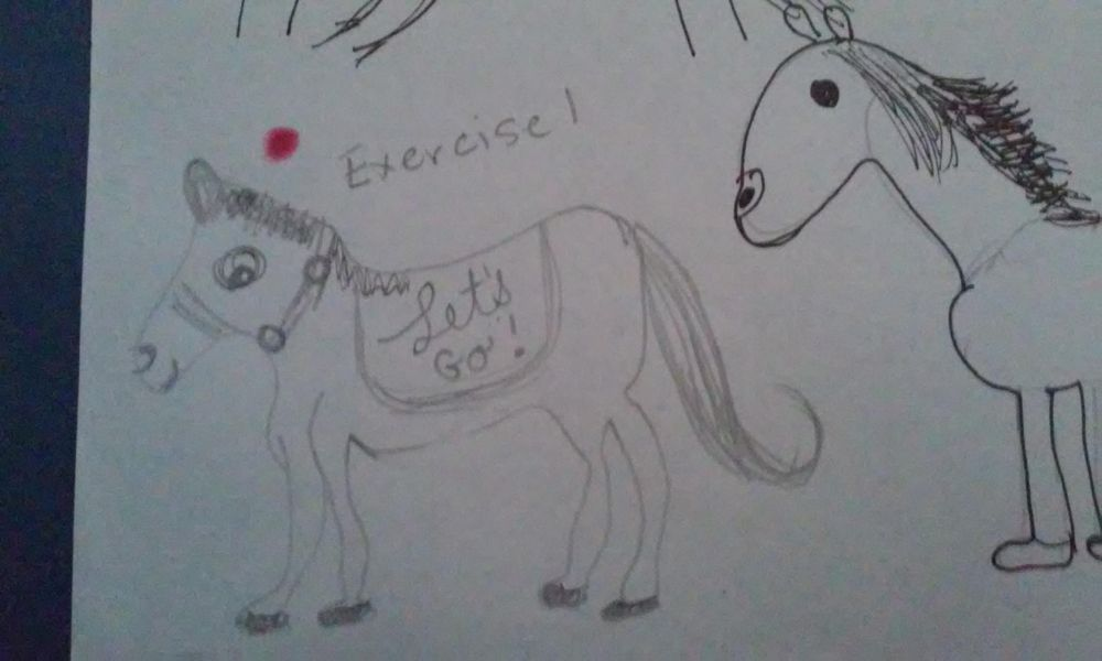 Inking Horses - image 9 - student project