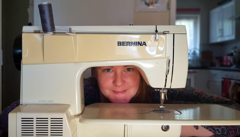 Self-portrait with Bernina - image 1 - student project