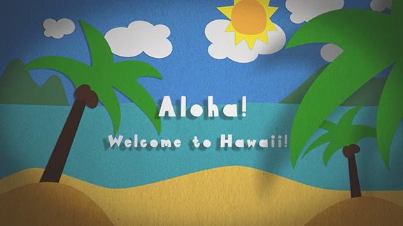 Aloha! - image 1 - student project