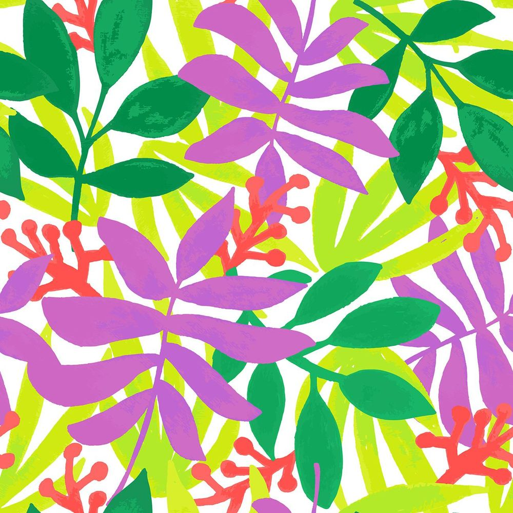 Tropical Pattern Tile - image 1 - student project