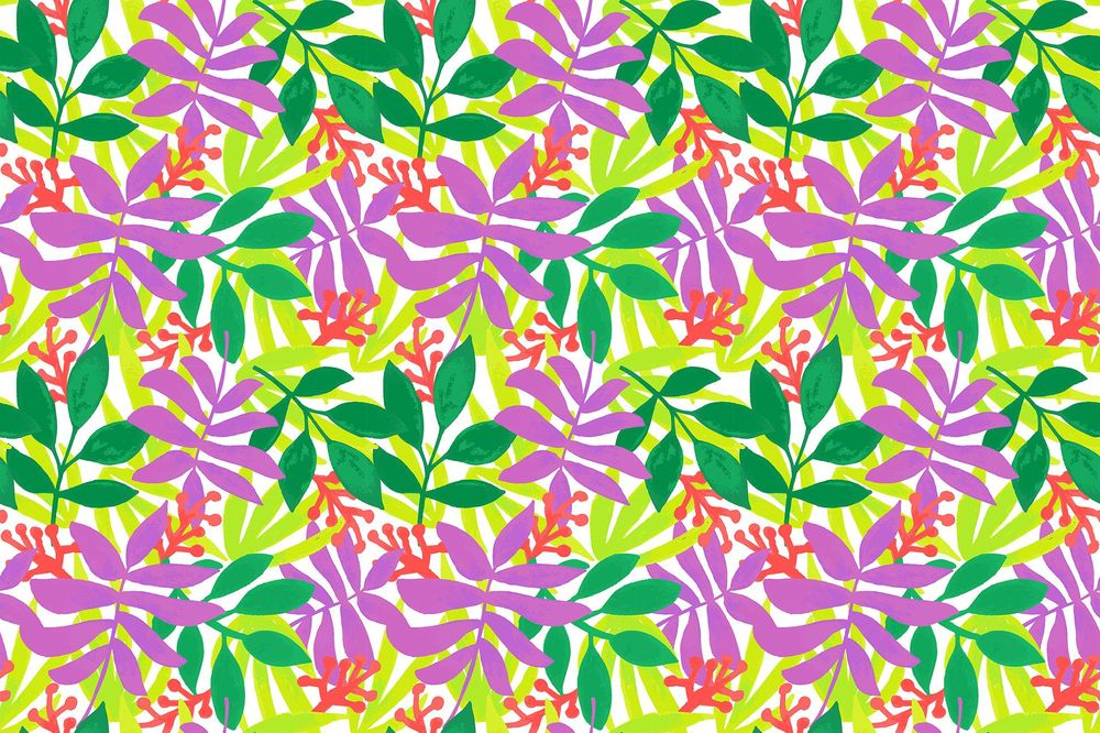 Tropical Pattern Tile - image 2 - student project