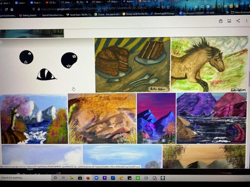 Digital, Traditional, Landscape Artwork - image 2 - student project