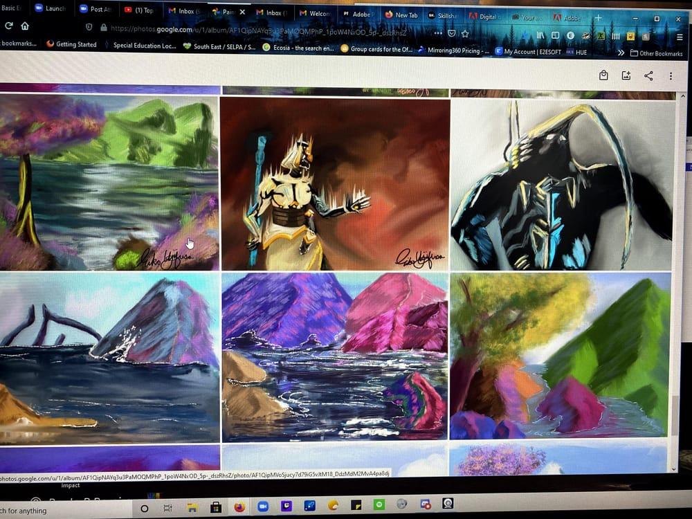 Digital, Traditional, Landscape Artwork - image 1 - student project