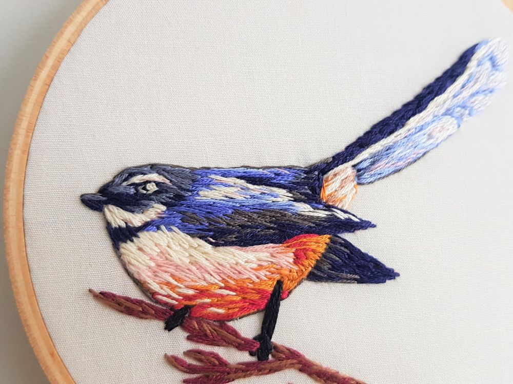 Fantail - image 1 - student project