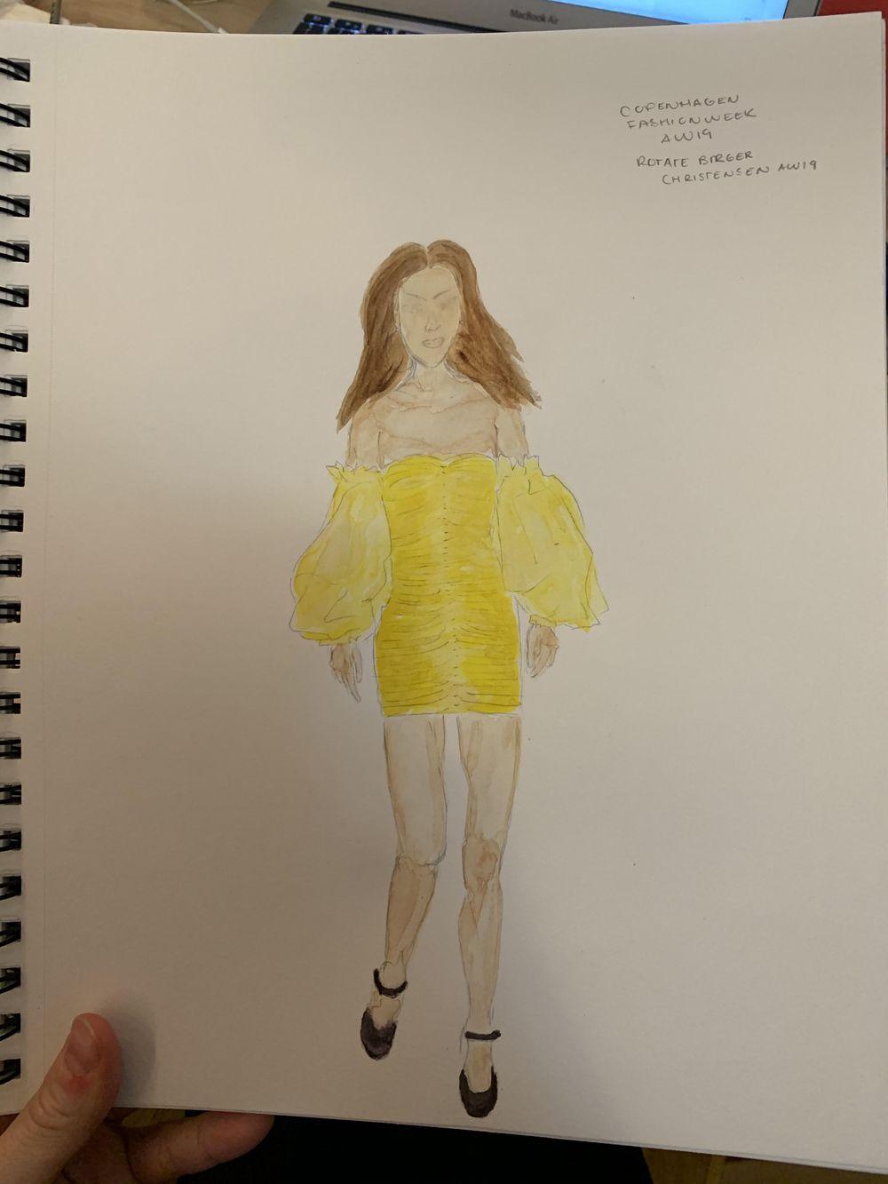 Copenhagen Fashion week AW19 - image 1 - student project