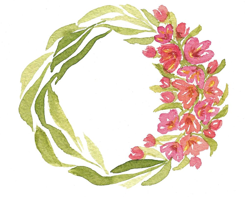 Wreath Practice - image 8 - student project