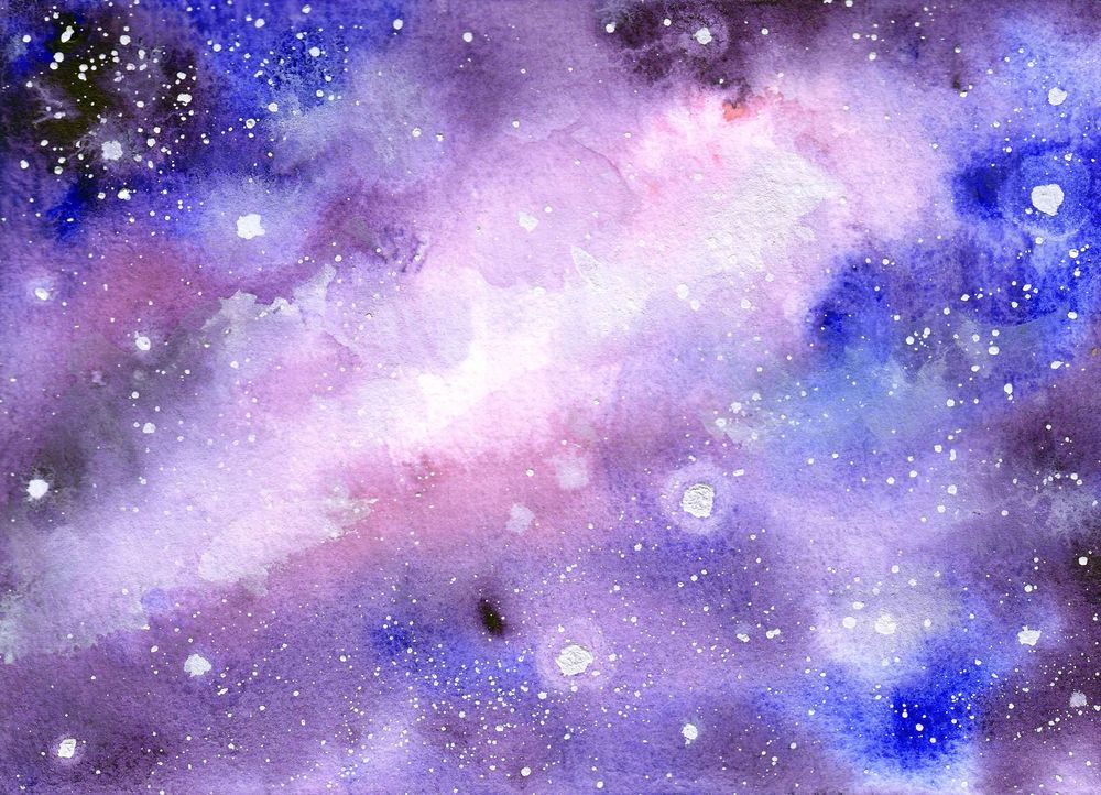 Easy Watercolorgalaxy - image 1 - student project