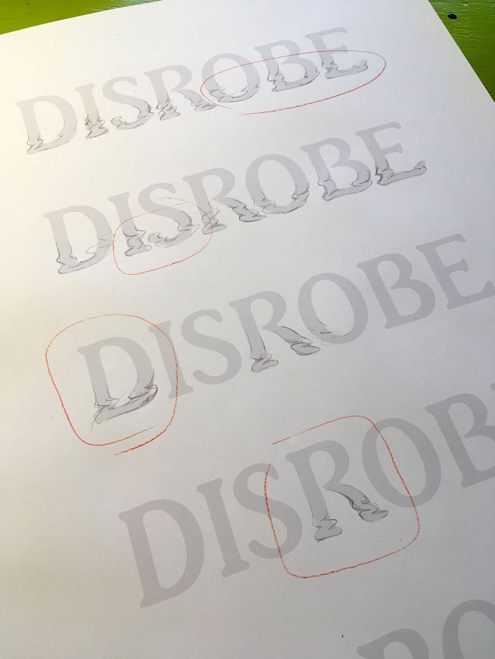 Disrobe Logotype - image 8 - student project
