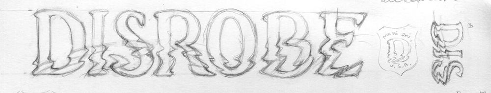 Disrobe Logotype - image 2 - student project