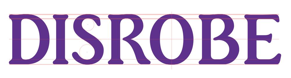 Disrobe Logotype - image 6 - student project