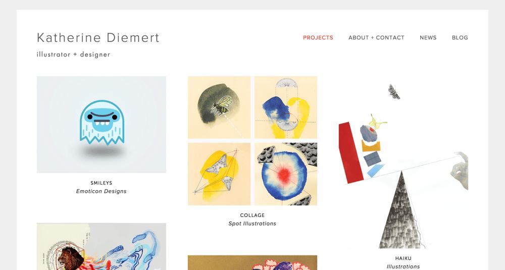 Hi! I'm Katherine, an illustrator + designer - image 1 - student project