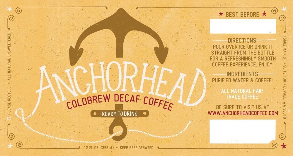 Anchorhead Coldbrew Coffee - image 6 - student project