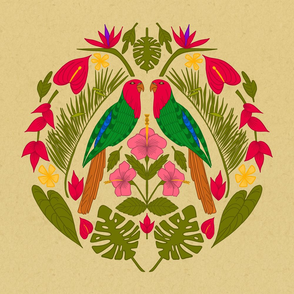 Parrot Jungle - image 2 - student project