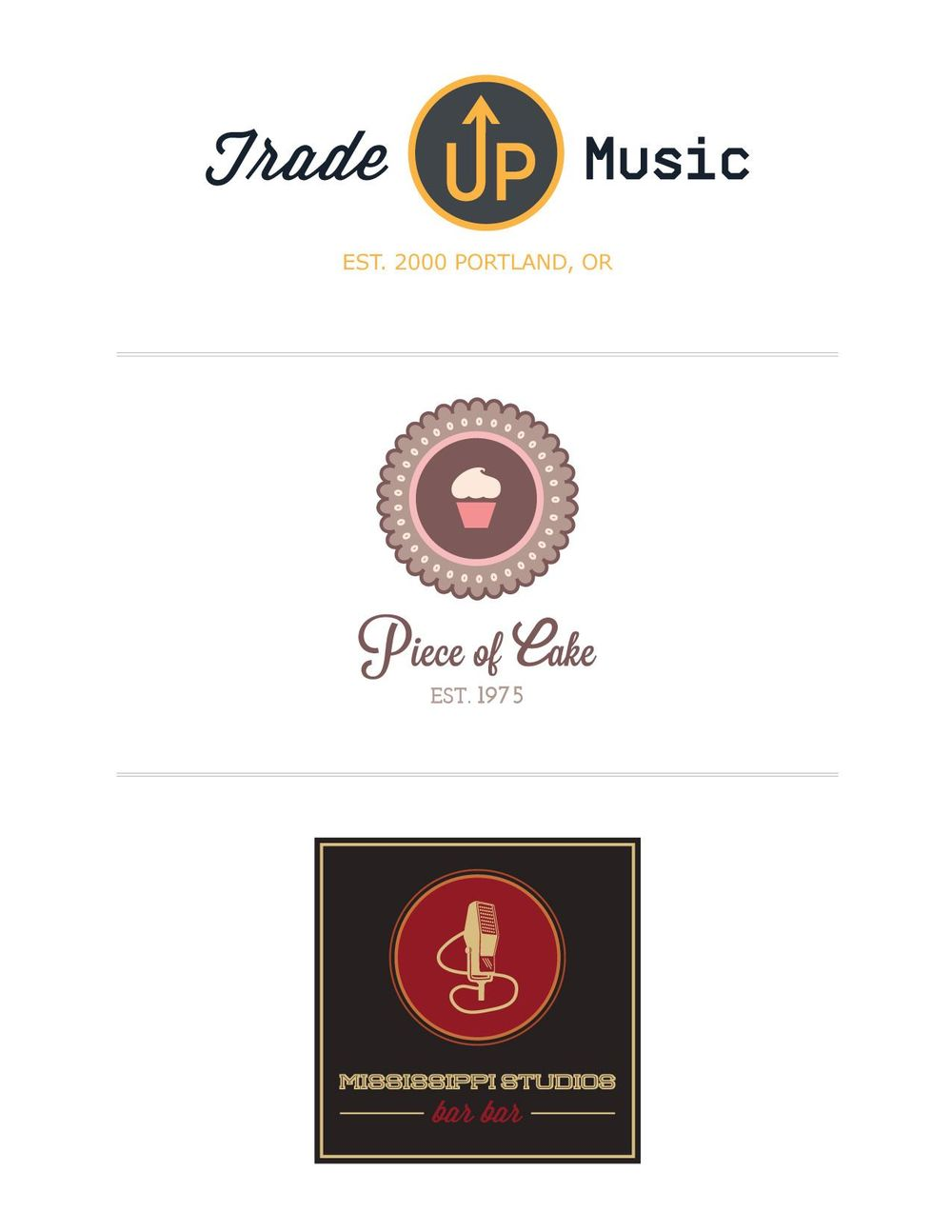 Updated: 3 different logos. - image 4 - student project