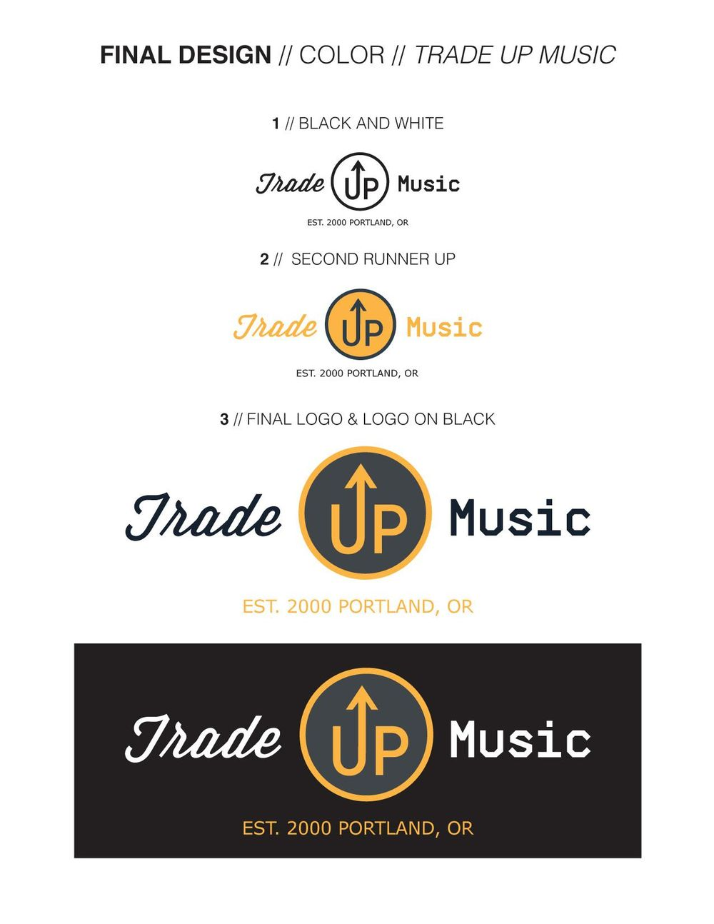 Updated: 3 different logos. - image 1 - student project