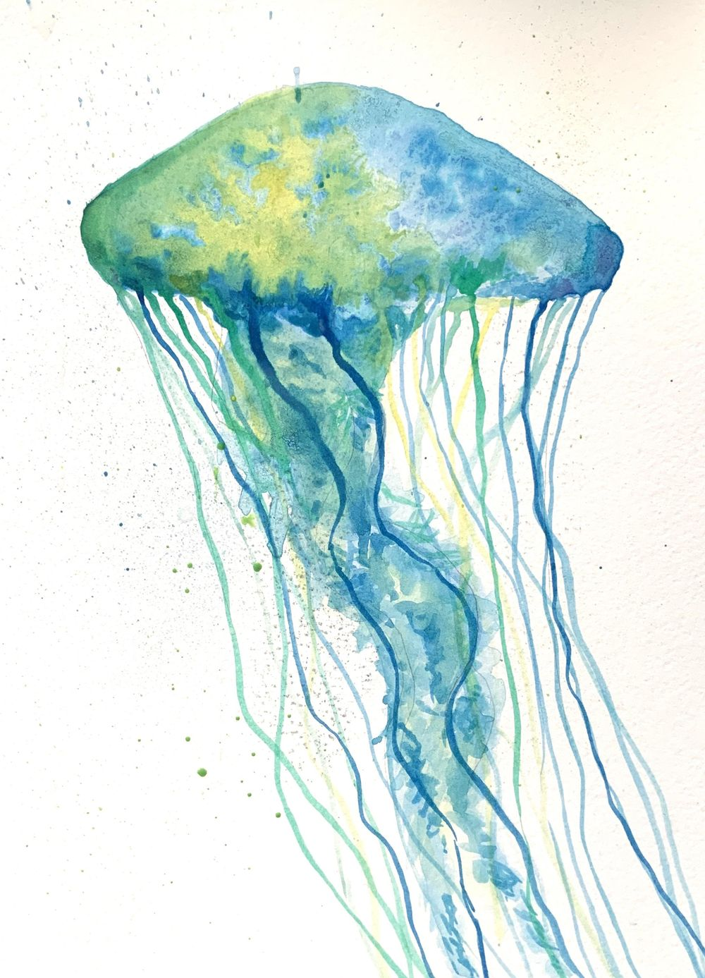 Jellyfish and galaxy - image 1 - student project
