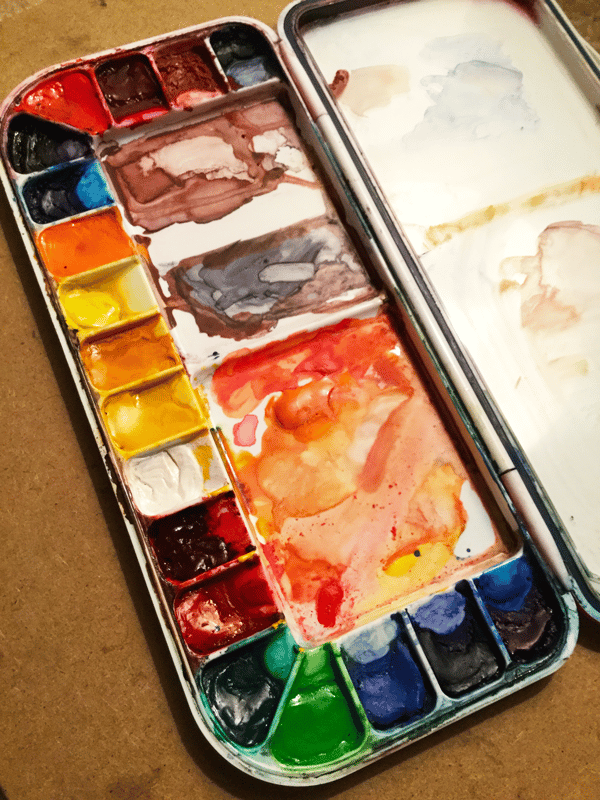 I Love Watercolors - image 1 - student project