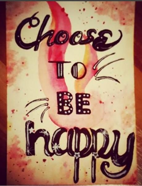 Choose to be happy  - image 1 - student project