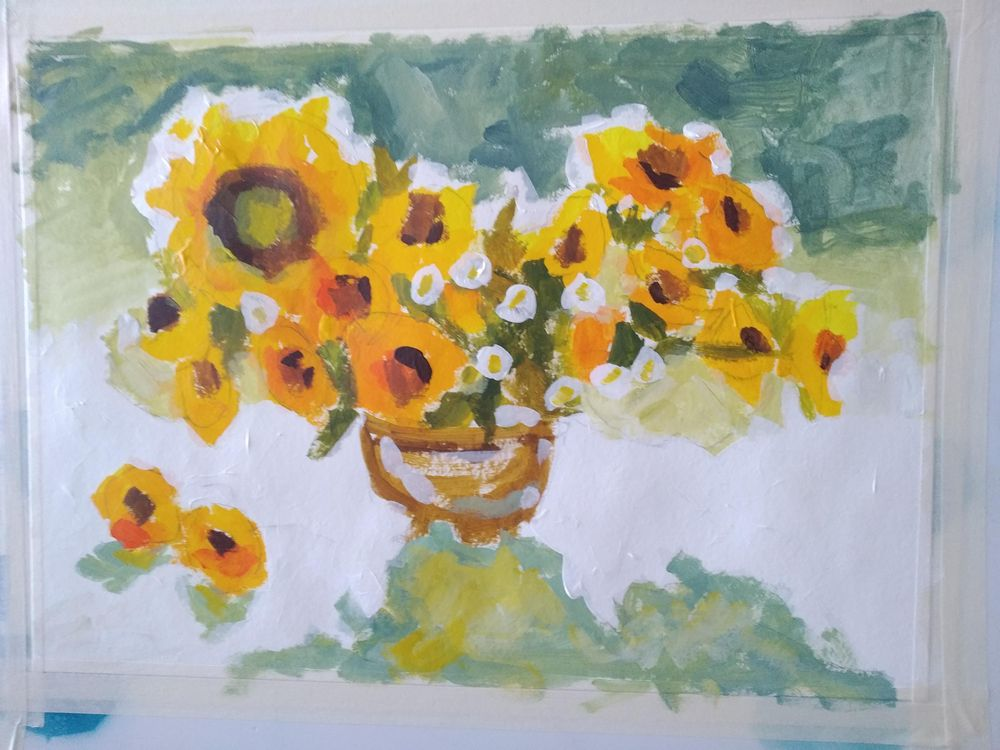 Sunflowers - image 2 - student project