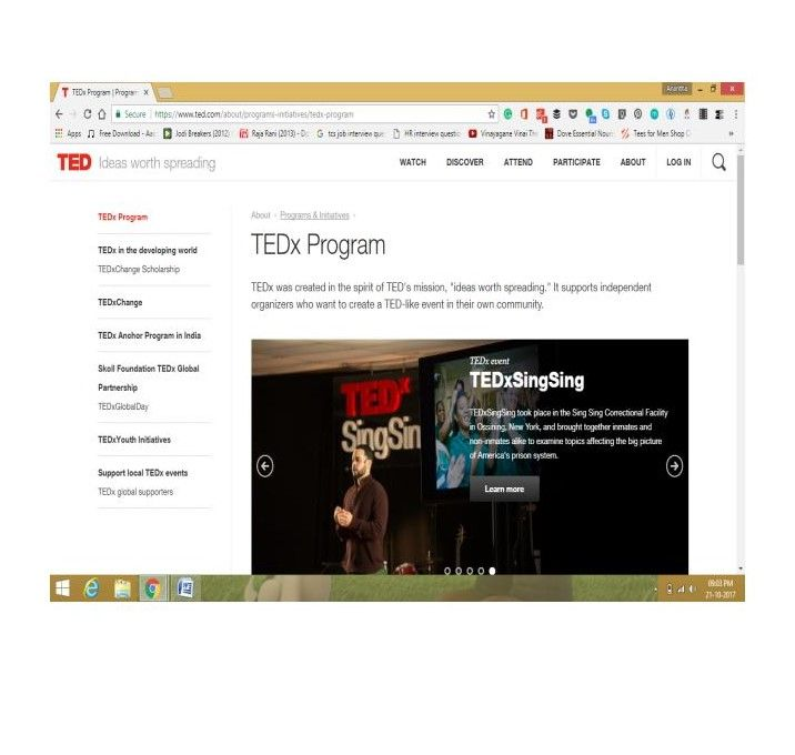 I like all the E-Learning courses listed by you during your lecture.Ted is nice  - image 1 - student project