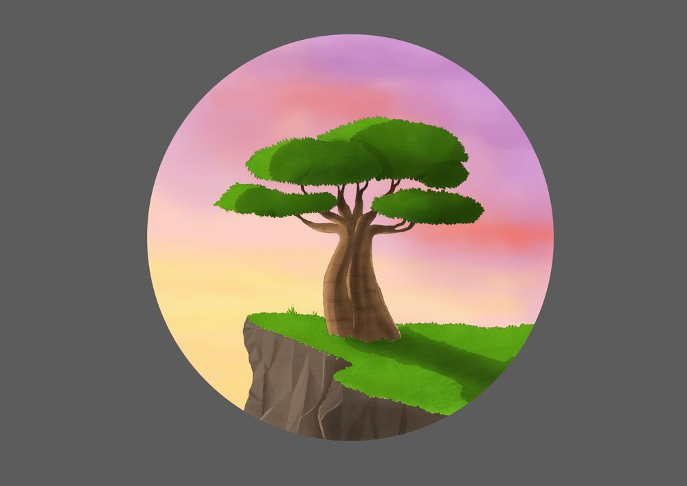 Baobab tree - image 1 - student project