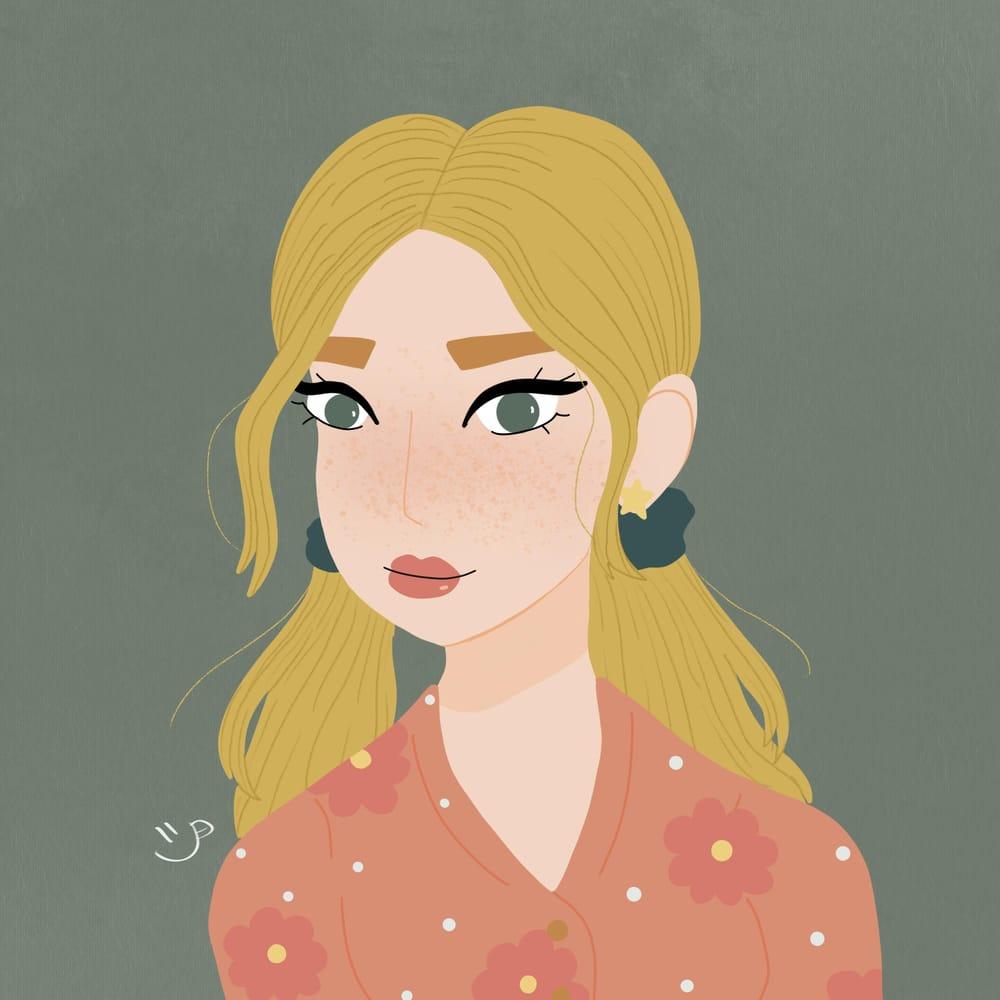 My Stylized Portrait - image 1 - student project