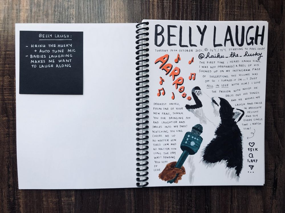 Harini's Illustrated Journal 2.0! - image 8 - student project