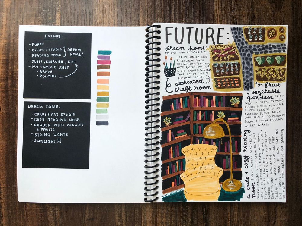 Harini's Illustrated Journal 2.0! - image 5 - student project