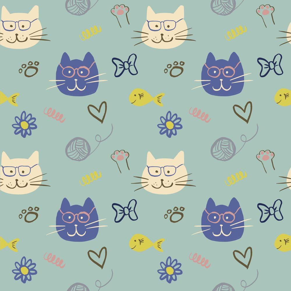 Cat Patterns - image 2 - student project