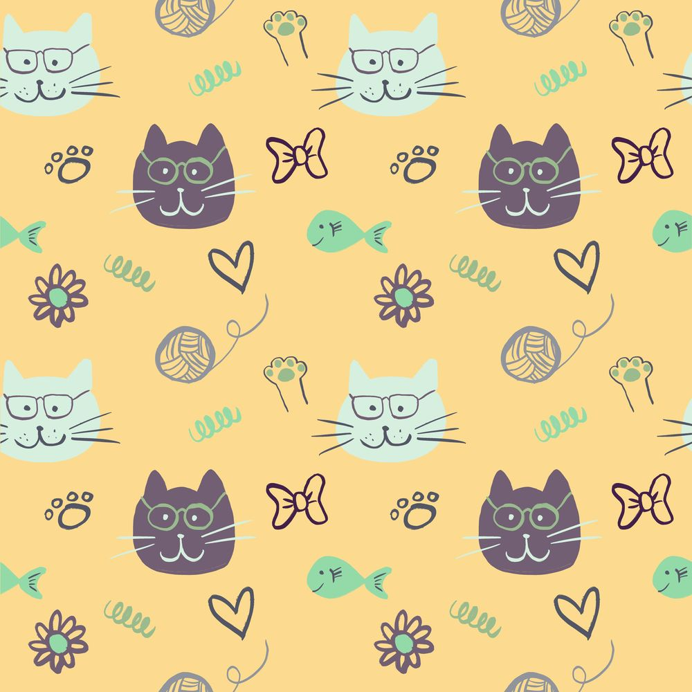 Cat Patterns - image 1 - student project