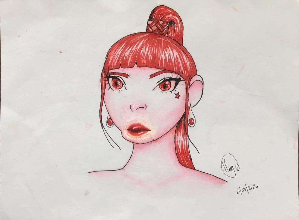 Stylised Portraits - image 2 - student project