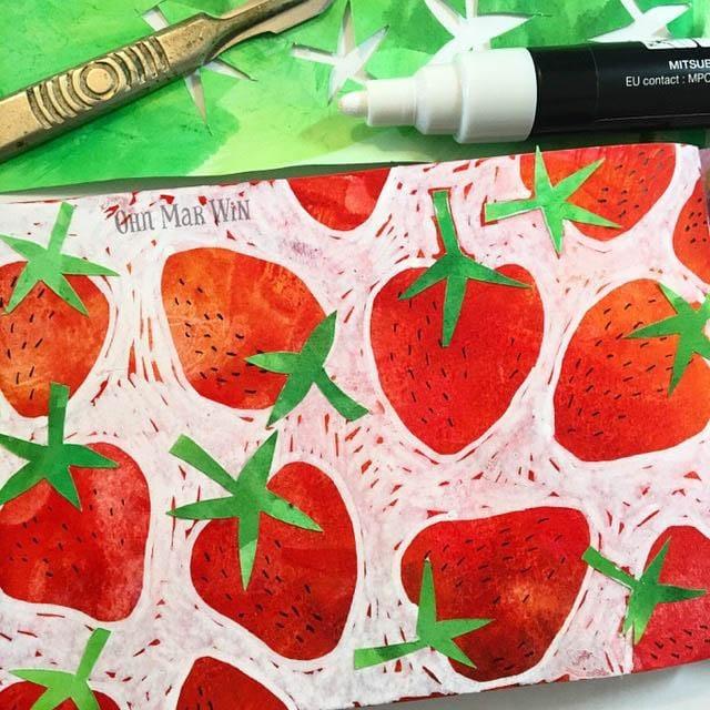 Zesty Lemons, sweet strawberries & fun florals - image 2 - student project