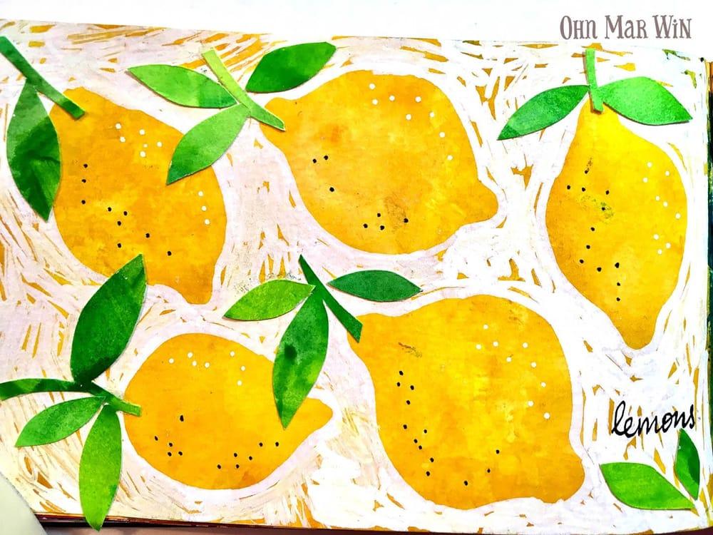 Zesty Lemons, sweet strawberries & fun florals - image 1 - student project