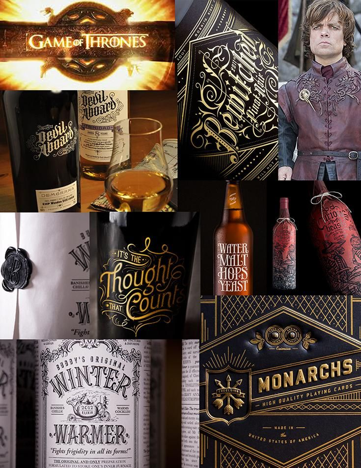 Tyrion Table Wine Label - image 1 - student project